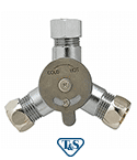 Mixing Valve w/ Compression Fittings