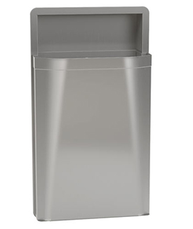 3A05 Recessed, 12 Gallon Capacity Diplomat Waste Receptacle