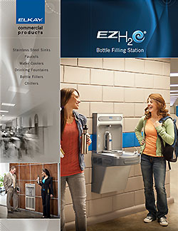 Air Delights presents Elkay EZH2O Water Bottle Drinking Station Brochure