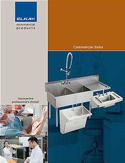 Air Delights presents Elkay sinks catalog.