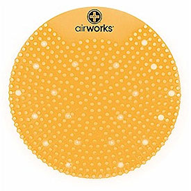 AirWorks Splash Free Urinal Screen - Citrus Grove - 10 Pack