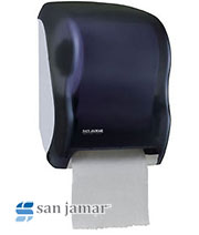 Tear-n-Dry Classic Electronic Touchless Roll Towel Dispenser - Black