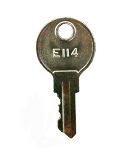 Key for tumbler lock