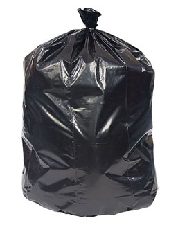 Go to Coastwide Professional 40-45 Gal. Trash Bags, High Density, 22 Mic., Black, 25 Bags/Roll, 6 Rolls