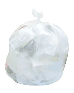 Go to Coastwide Professional 40-45 Gal. Trash Bags, High Density, 12 Mic., Natural, 25 Bags/Roll, 10 Rolls