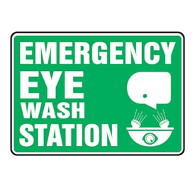 Eyewash Station Signs